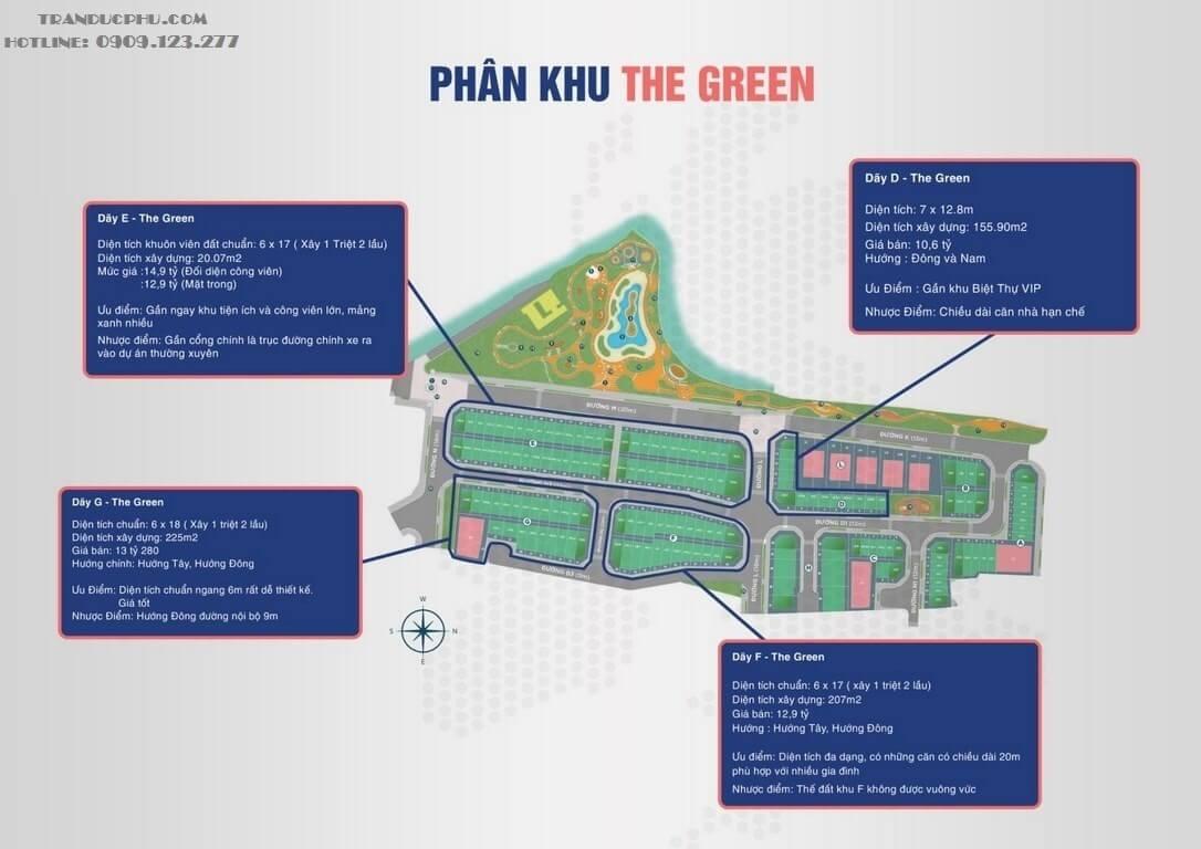 phân khu The Green