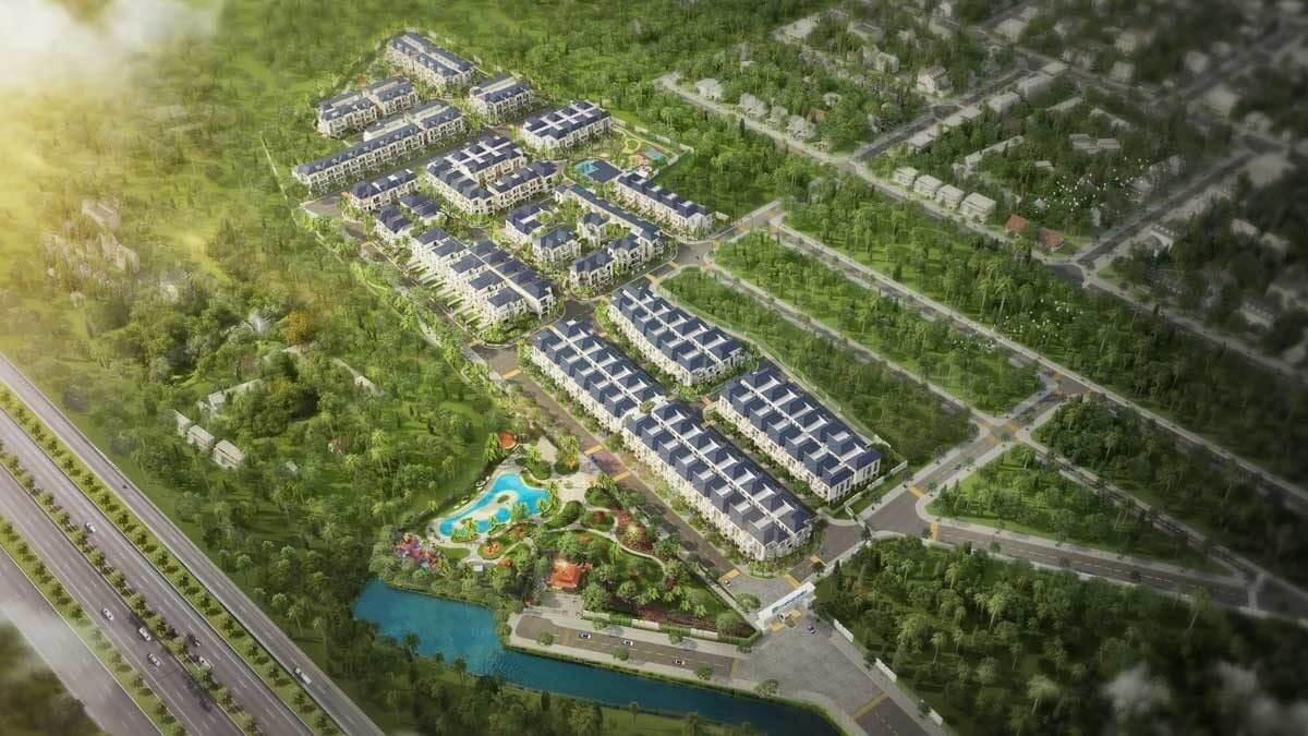 Phối cảnh tổng thể dự án Verosa Park