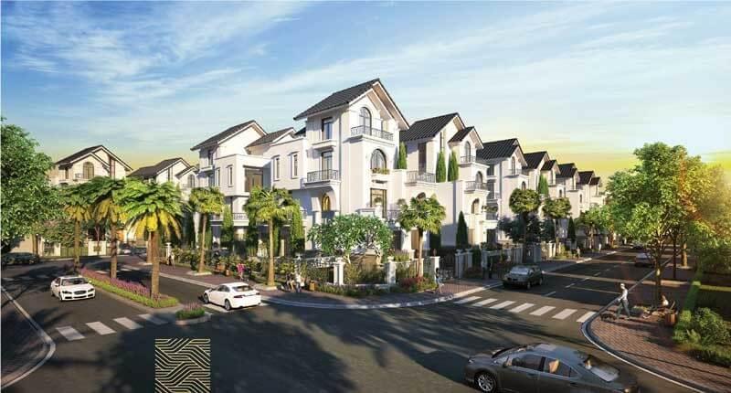 Phối cảnh biệt thự tại dự án Saigon Mystery Villas