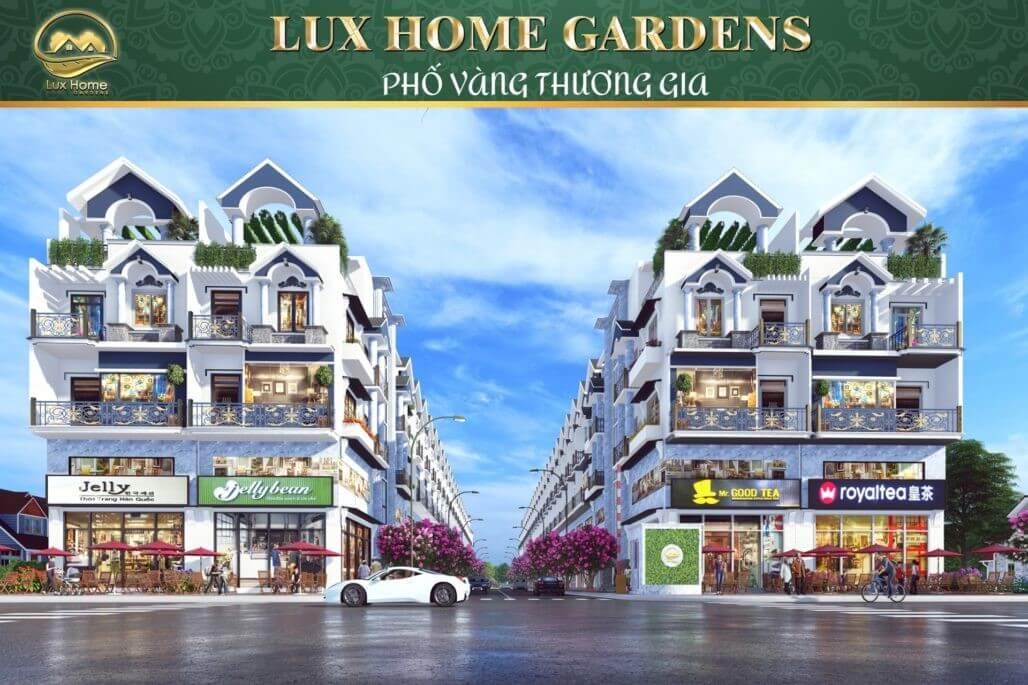 thiet ke nha pho Lux Home Gardens