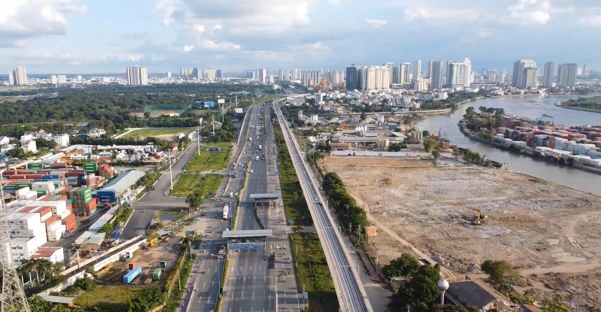 tiến độ dự án Saigon Quays