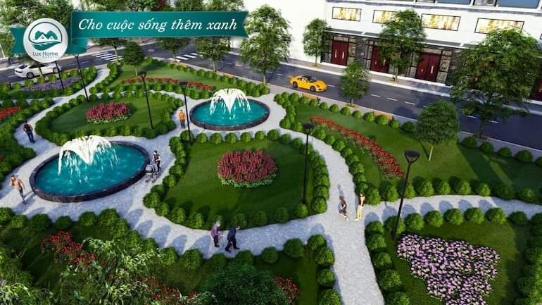 tien ich du an Lux Home Gardens