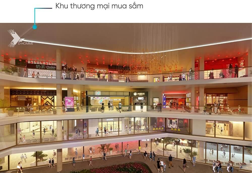 trung tâm thương mại D-Homme