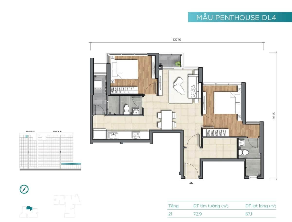 can ho penthouse