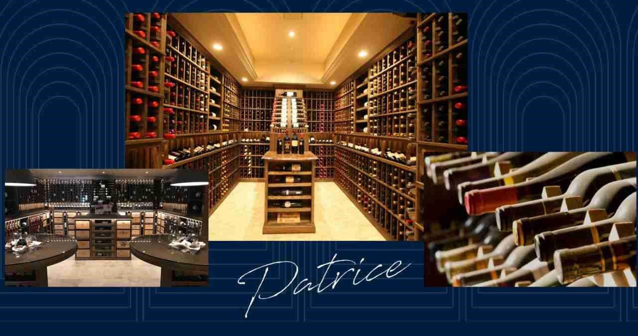 Hầm rượu vang Organic Patrice Noble tại dự án Grand Central
