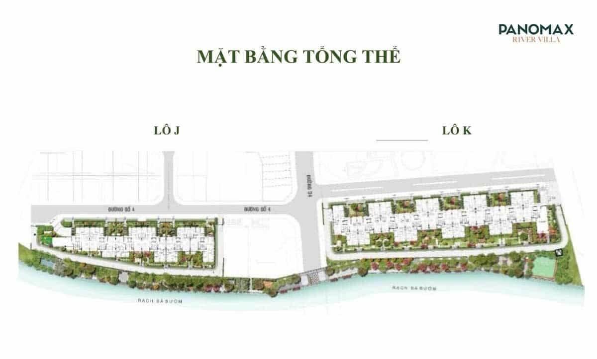 mat bang tong the du an Panomax River Villa