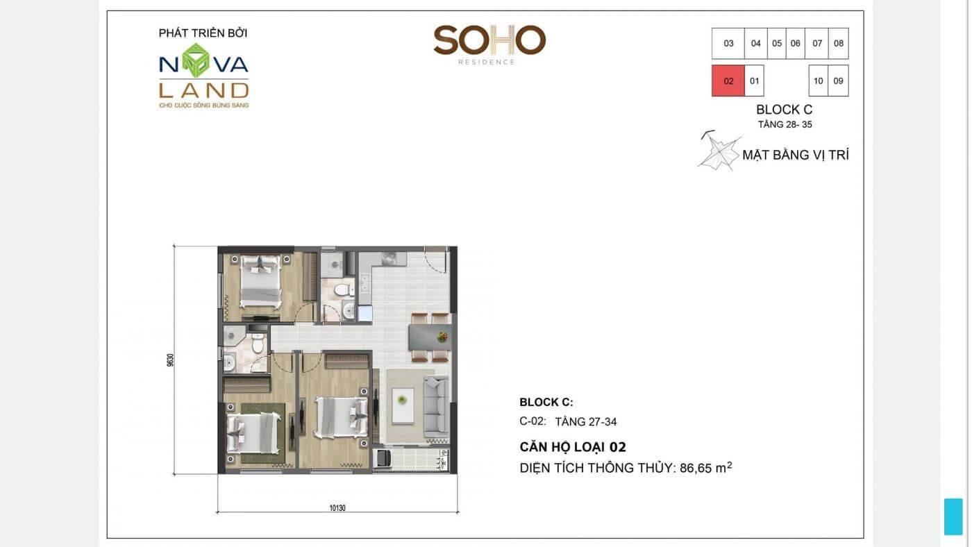 mau can ho Soho Residence