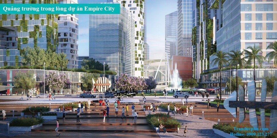 quang truong Empire City thu thiem