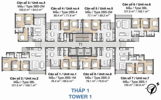 thap 1 Palm Heights