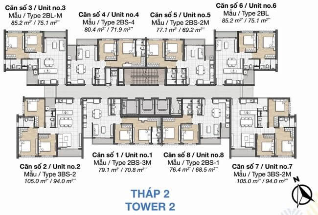 thap 2 Palm Heights
