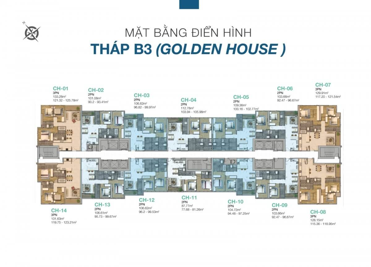 thap golden house binh thanh