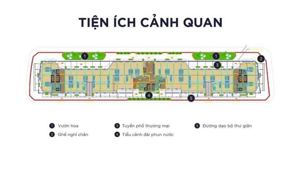 tien ich canh quan Sunshine Continental