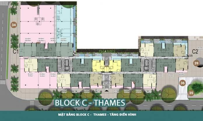 Block C – Block Thames