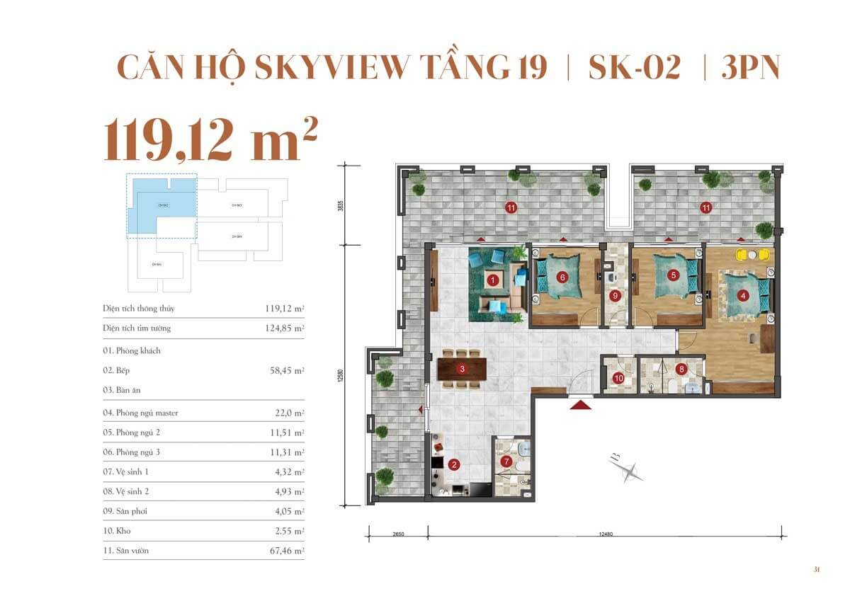 can ho skyview ST.Moritz