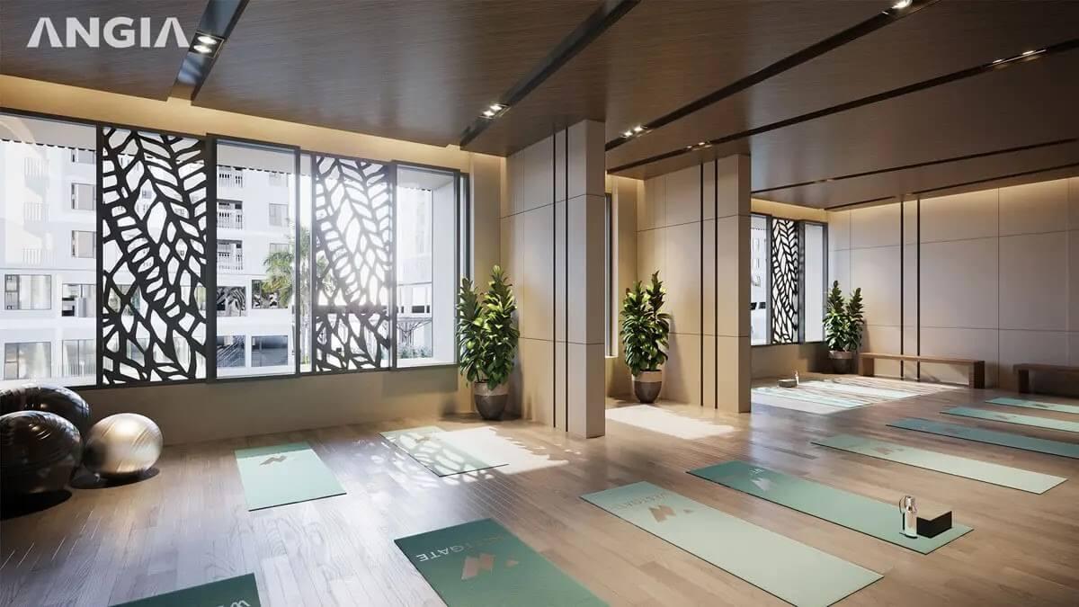 Phòng tập Yoga Dự án West Gate