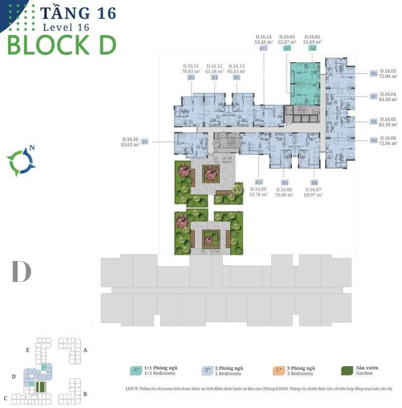tang 16 block D