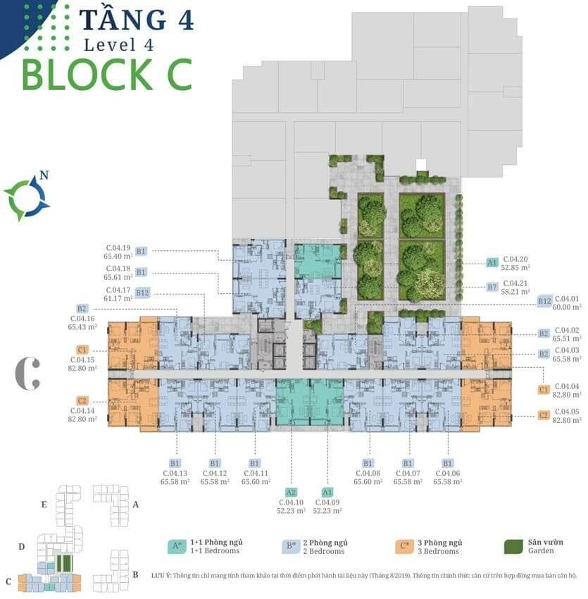 tang 4 block D Lovera Vista